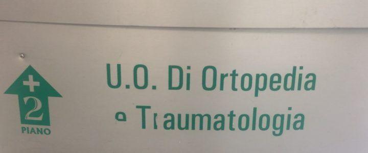 Ospedale San Giuliano, paralizzato il reparto di ortopedia