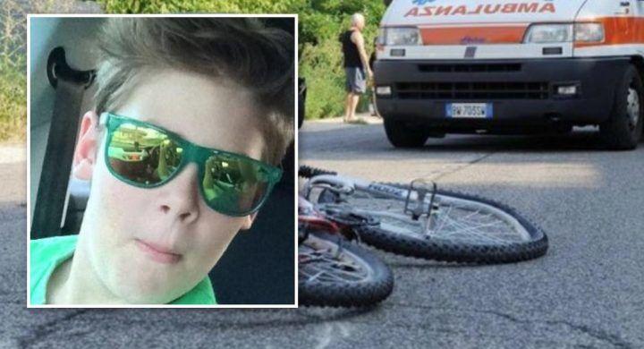 Reggiolo, si schianta con la bici contro un'auto: muore a 13 anni
