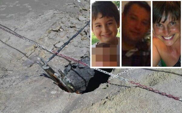 Famiglia distrutta nella Solfatara, sequestrata intera area
