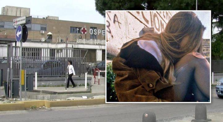 """Giallo a Giugliano, donna ferita trovata fuori all'ospedale: """"Mi hanno stuprata"""""""