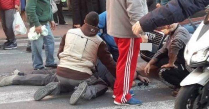 Tragedia nel casertano, viene travolto da auto mentre attraversa: è grave al Moscati