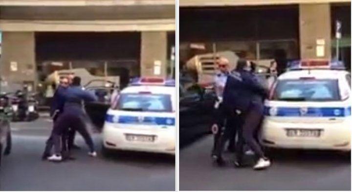 Violenza nel napoletano, non vuole spostare l'auto e manda due vigili all'ospedale