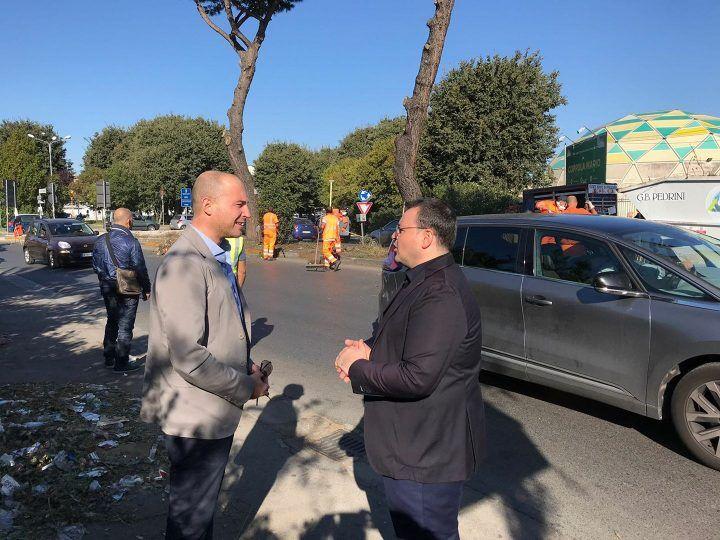 """Mugnano, parte la pulizia della Città Metropolitana sulla circumvallazione: """"Mancava da due anni"""""""