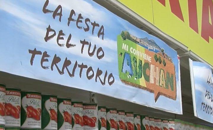 """Auchan Giugliano, """"La festa del tuo territorio"""": valorizzazione della Mela Annurca e dei prodotti tipici locali"""