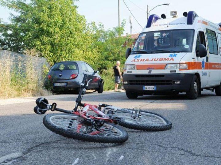 Tragedia a Marcianise, investita 55enne in bici da un'auto: è grave