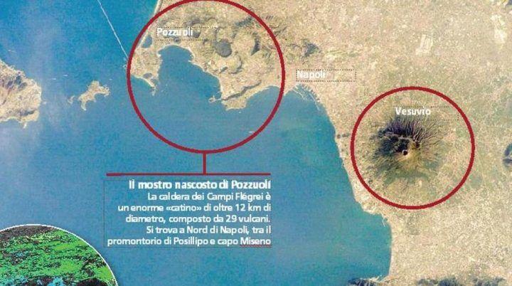 "Campi Flegrei, telefonata choc tra due ricercatori: ""O dati sbagliati o eruzione imminente"""
