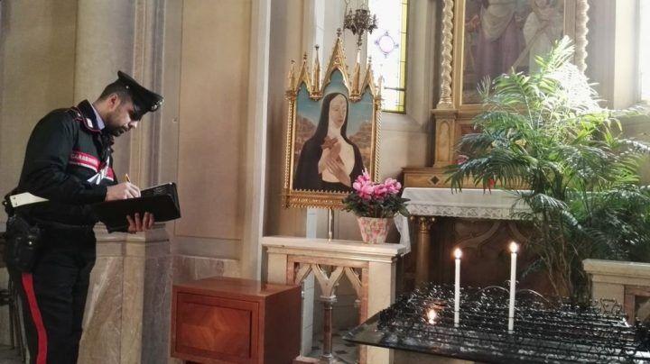 """Estorsioni in chiesa, arrestato 45enne napoletano. """"Metto una bomba"""""""