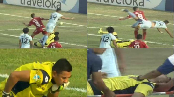 Dramma nel mondo del calcio, portiere della nazionale muore in campo in diretta tv. VIDEO