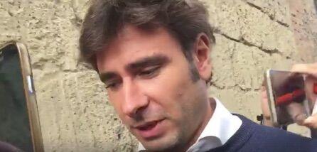 Processo Ferrillo, Davide Casaleggio e Di Battista al Tribunale di Aversa. VIDEO