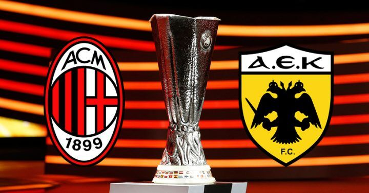 Dove vedere Milan-AEK Atene: streaming gratis, diretta free in tv