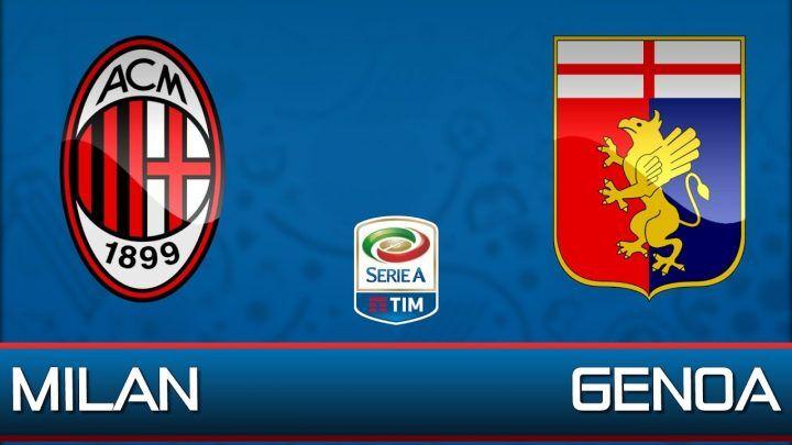 Dove vedere Milan-Genoa: streaming gratis, diretta free live