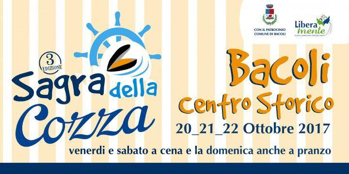 Bacoli, ritorna la Sagra della Cozza: dal 20 al 22 ottobre