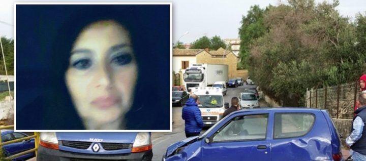 Erice, si schianta contro un furgone: muore Gisella Toscano