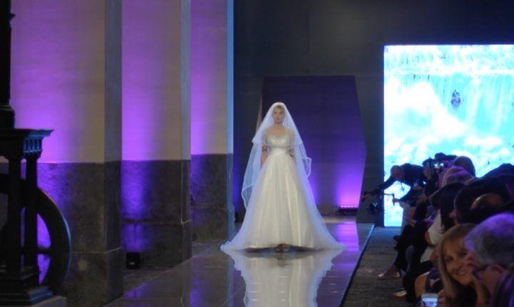 Spose al museo tra i treni storici di Pietrarsa con Hera wedding: tanti ospiti e l'anteprima nazionale della collezione Gai Mattiolo