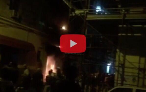 Napoli, in fiamme nota pizzeria: panico tra i clienti