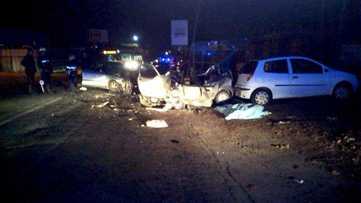 Terribile incidente a Marcianise: cinque auto coinvolte