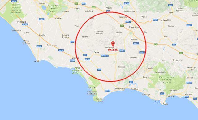 Terremoto nel basso Lazio: paura tra la popolazione