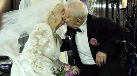 Campania, l'amore non ha età: Vittorino si sposa a 100 anni