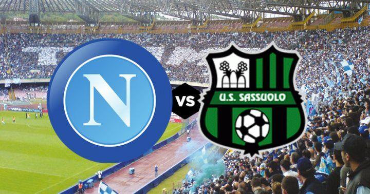 Dove vedere Napoli-Sassuolo: streaming gratis, diretta free live