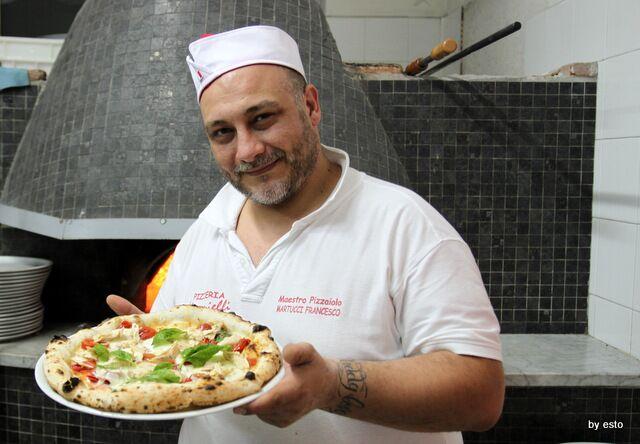 """Scelto il nuovo Re della Pizza, è il casertano Francesco Martucci de """"I Masanielli"""""""