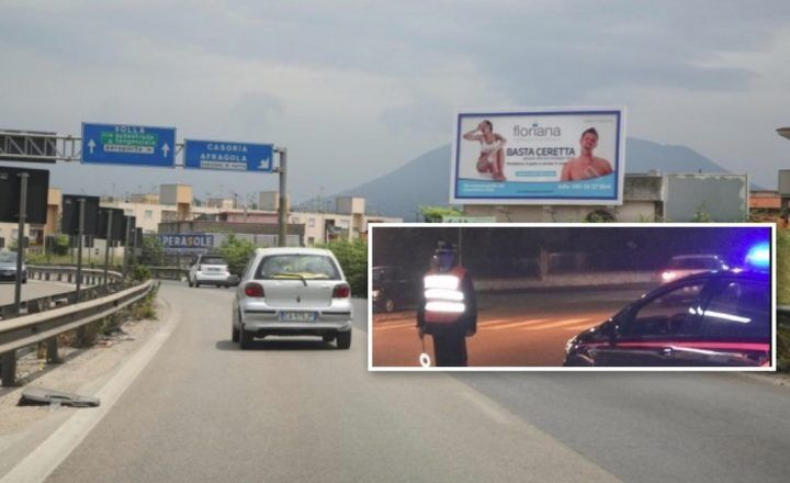 Nuova tecnica nel napoletano per rapinare gli automobilisti di passaggio, effettuati due arresti