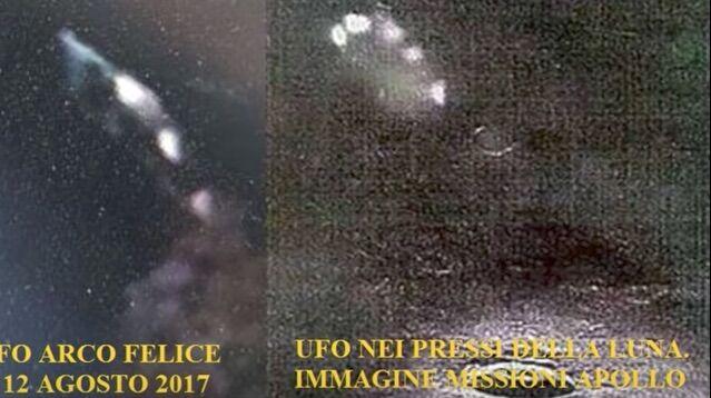 """Pozzuoli, avvistati tre UFO. Gli esperti: """"Uguali a quello della missione Apollo"""". VIDEO"""