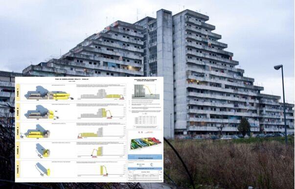 Scampia, progetto da 27 milioni di euro per abbattere 3 Vele