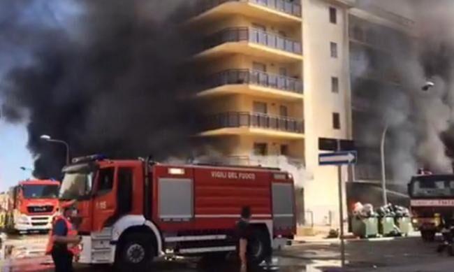 Tragedia sfiorata nel casertano: abitazione in fiamme a causa del barbecue
