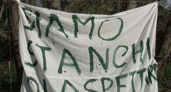 Pozzuoli, protesta degli sfollati del bradisismo. VIDEO