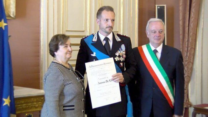 Giugliano, il capitano De Lise nominato Cavaliere al Merito della Repubblica