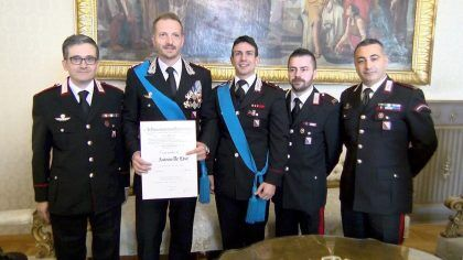 capitano de lise cavaliere carabinieri
