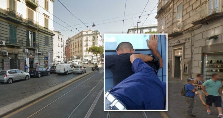 Napoli, beve caffé fuori a noto bar quando arriva un malvivente: arrestato 23enne dopo inseguimento