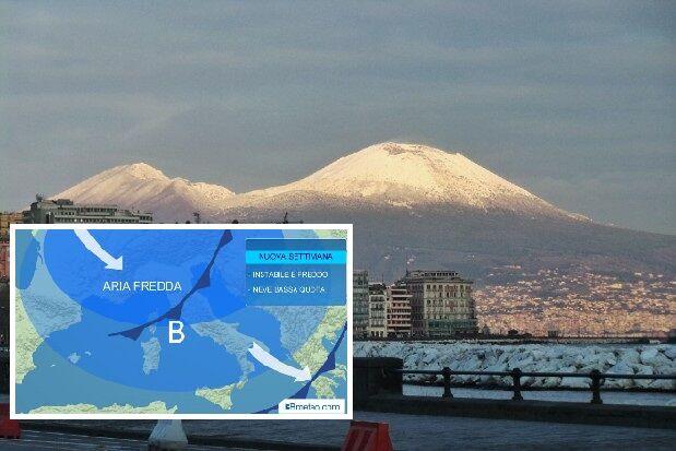Meteo, inizio settimana all'insegna del freddo: piogge e brusco calo termico sull'Italia