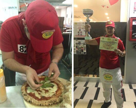 Campionato europeo di pizza, vince un giovane giuglianese