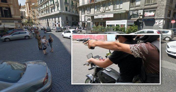 Napoli, sparatoria nei pressi di una nota pizzeria. Terrore tra clienti e passanti