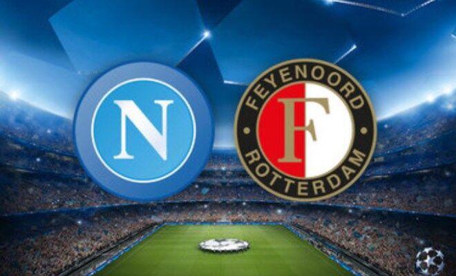 Dove vedere Feyenoord-Napoli: streaming gratis, live diretta free
