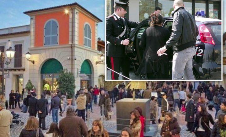 """Marcianise, carabinieri all'outlet """"La Reggia"""". Arrestate due donne del napoletano"""