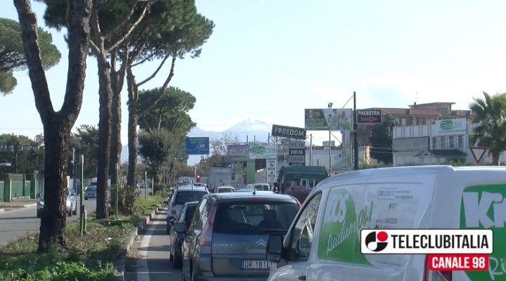Lavori sulla circumvallazione a Mugnano, traffico paralizzato