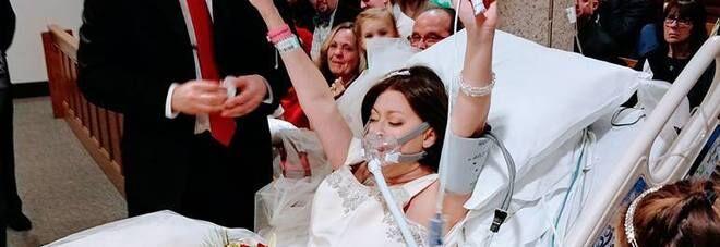 Malata terminale 31enne si sposa in ospedale e muore poche ore dopo