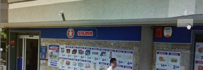 rapina supermercato caserta