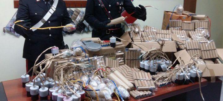Arsenali di botti, i carabinieri sequestrano ingenti quantitativi