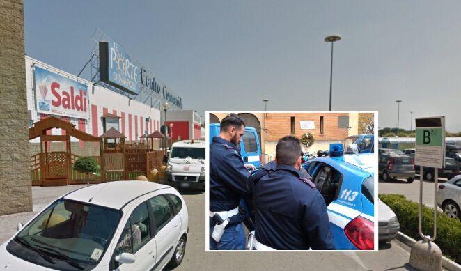 Afragola, rapinatore arrestato nel parcheggio del centro commerciale