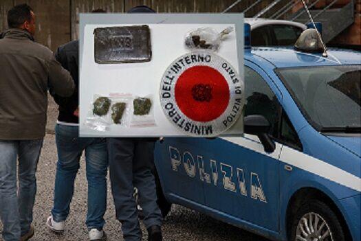 caserta arresto droga