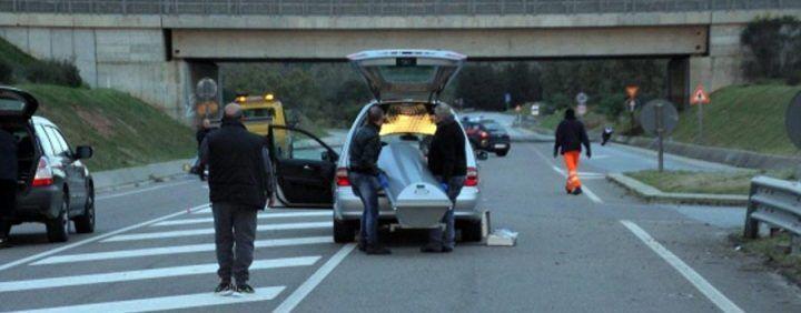 Incidente col carro funebre: un morto e tre feriti