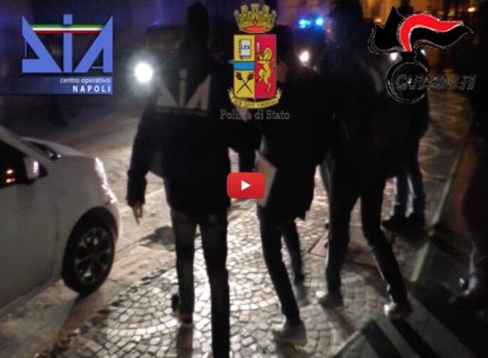 clan moccia arresti 23 gennaio video
