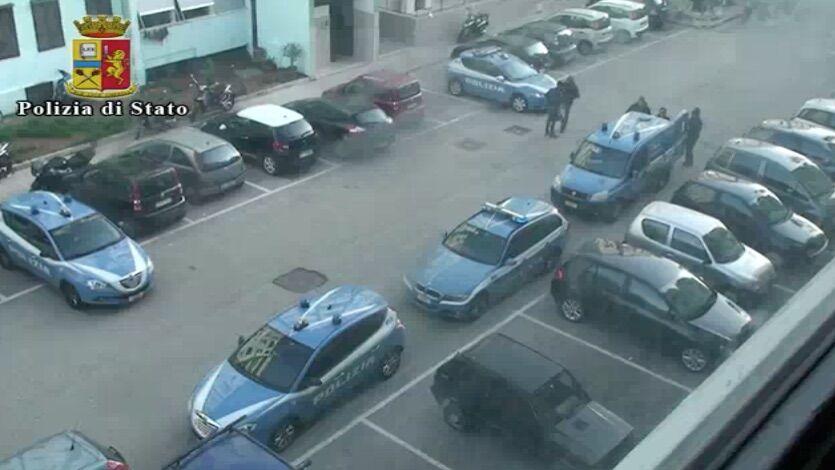 polizia parco verde caivano
