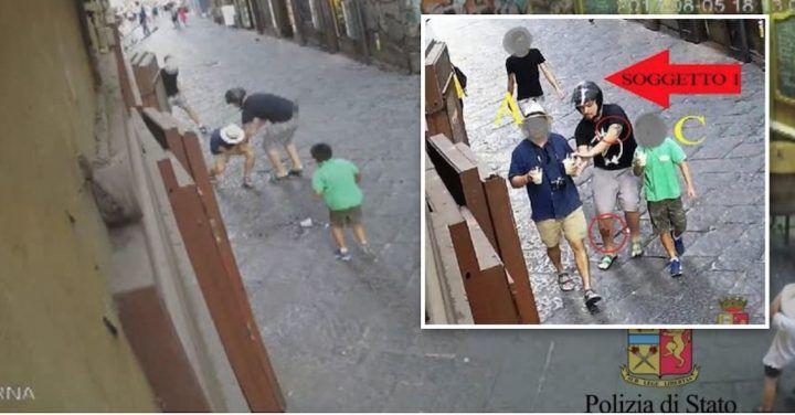 Napoli, colpo al centro: rubano rolex da 23mila euro. Arrestato un 20enne
