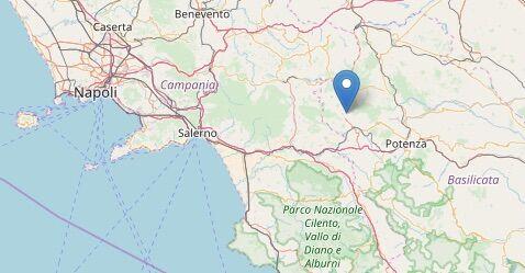 Terremoto, scossa poco fa tra Campania e Basilicata: