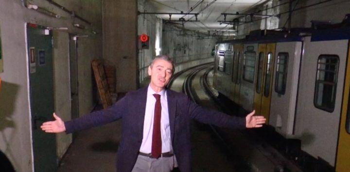 """Napoli. """"Tunnel troppo stretti per la metro"""", la smentita dell'assessore. VIDEO"""