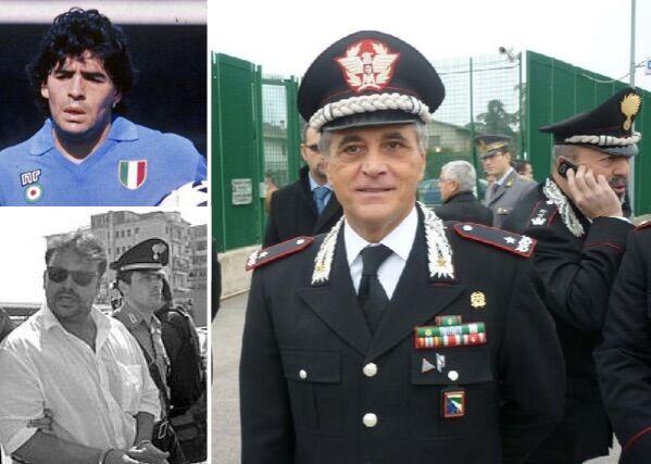 Torna a Napoli il carabiniere Tomasone: l'arresto di 'a Scigna, l'inchiesta su Maradona e la cocaina